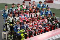 Gruppenfoto: Die Piloten der MotoGP-Saison 2018