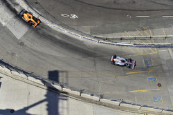 Will Power, Team Penske Chevrolet, Alexander Rossi, Zach Veach, Andretti Autosport Honda