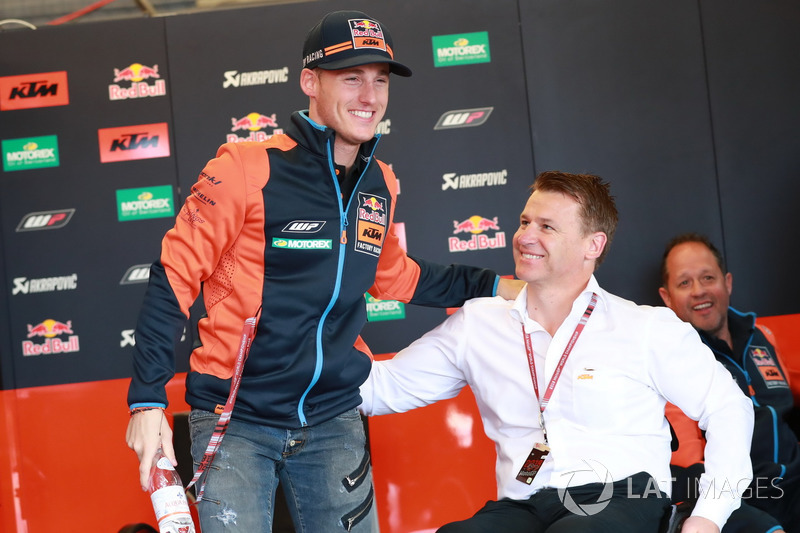Pol Espargaro, Red Bull KTM Factory Racing, Pit Beirer, directeur de la compétition de KTM