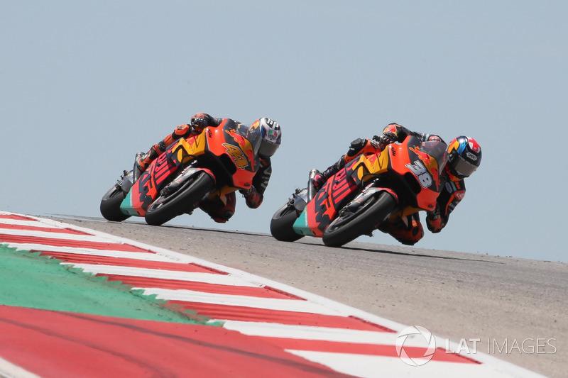 Bradley Smith, Red Bull KTM Factory Racing, Franco Morbidelli, Estrella Galicia 0,0 Marc VDS