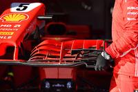 Ferrari SF-71H, dettaglio dell'ala anteriore