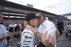 Ron Dennis, McLaren Mercedes talks, Kimi Raikkonen, McLaren regarding the retiring after the out lap
