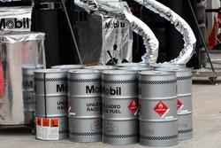 Mobil fuel for McLaren