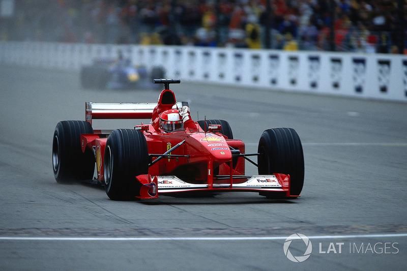 Michael Schumacher lors du GP des États-Unis