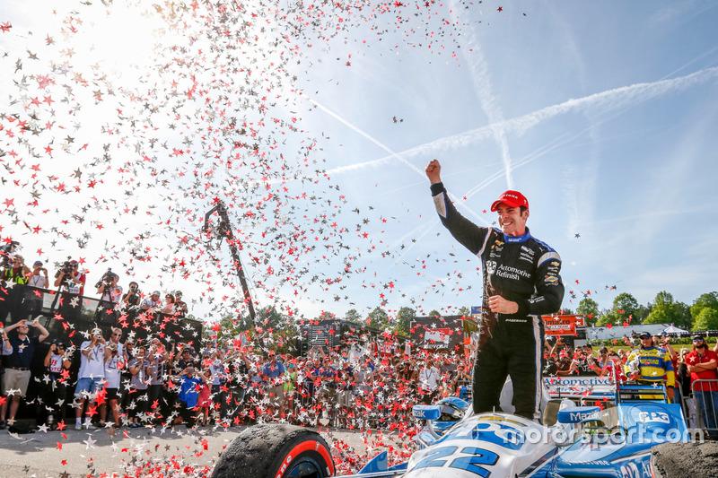 6. Simon Pagenaud, Team Penske Chevrolet ganador de la carrera