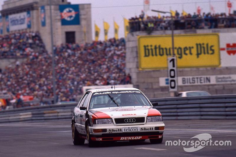 Hans-Joachim Stuck im Audi V8 quattro