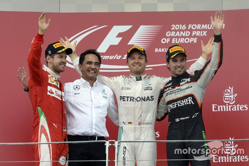 Perez'in sekizinci, Force India'nın altıncı