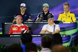 Пресс-конференция: Маркус Эрикссон, Sauber, Нико Хюлькенберг, Sahara Force India F1, Кевин Магнуссен