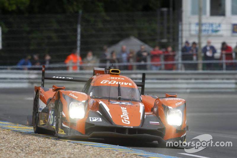 9: (LMP2 POLE) #26 G-Drive Racing Oreca 05 Nissan: Roman Rusinov, Will Stevens, René Rast