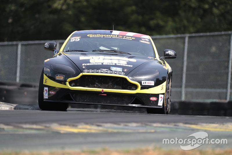 #99 Automatic Racing Aston Martin Vantage GT4: Rob Ecklin, Al Carter