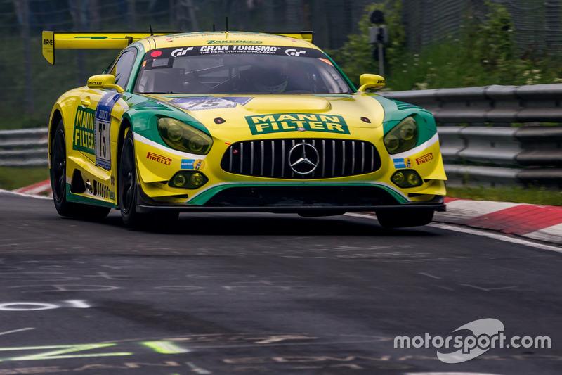 14. #75 Mann Filter Team Zakspeed, Mercedes-AMG GT3
