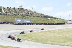 Race action, Marc Marquez, Repsol Honda Team leads