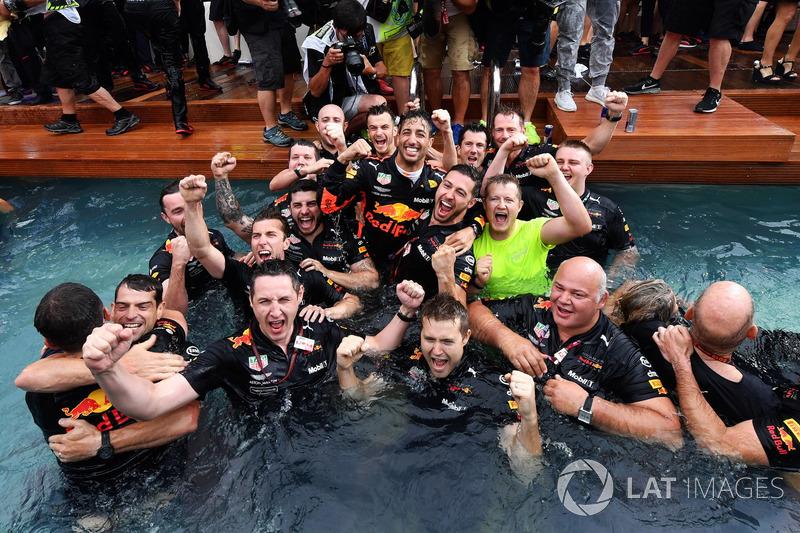 No GP de Mônaco de 2018, a Red Bull completou 250 GPs na F1. Separamos 10 momentos marcantes da equipe na categoria