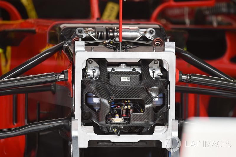 Ferrari SF71H chassis detail