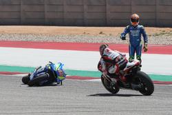 Аварія Алекса Рінса, Team Suzuki MotoGP