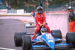 Стефан Йоханссон, Ligier, Герхард Бергер, Ferrari