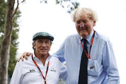 Sir Jackie Stewart, Ron Walker