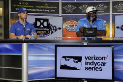 Ed Jones, Chip Ganassi Racing Hond, mit Ed 'Too Tall' Jones