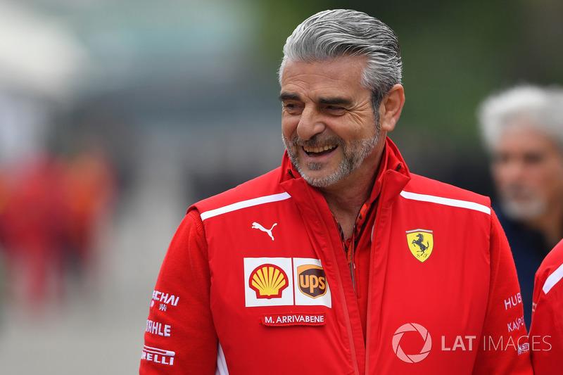 Maurizio Arrivabene, directeur de Ferrari