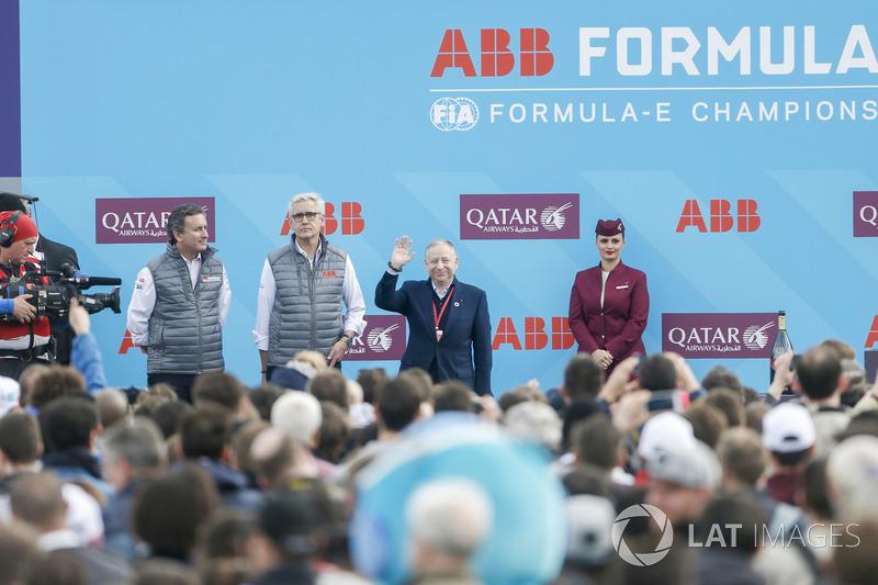 أليخاندرو عجاج، الرئيس التنفيذي للفورمولا إي وجان تود