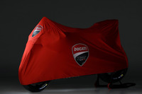 Ducati Desmosedici GP18 under cover
