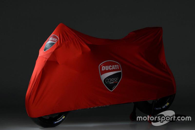 Ducati Desmosedici GP18 under cover