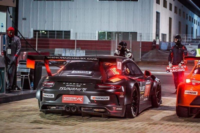 Дозаправка Porsche 991 #37 Tsunami RT