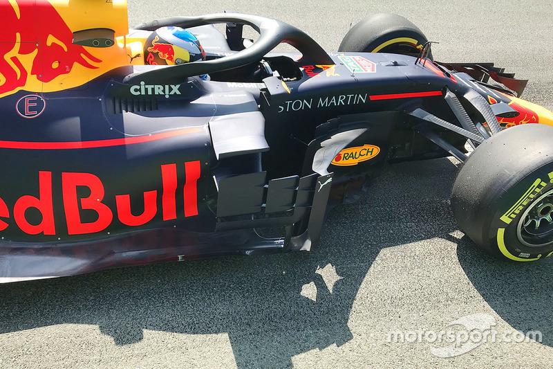 Daniel Ricciardo, Red Bull Racing RB14 detay
