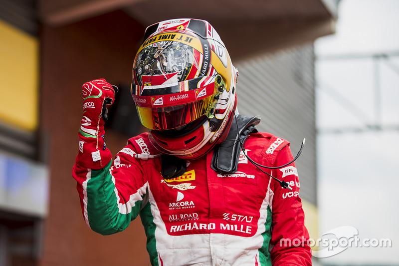 Шарль Леклер, Prema Racing(Формула 2, чемпион, 282 очка, семь побед и три подиума)