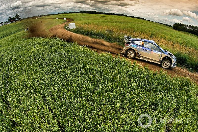 Teemu Suninen, Mikko Markkula, Ford Fiesta WRC, M-Sport