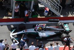 Ganador, Lewis Hamilton, Mercedes-Benz F1 W08