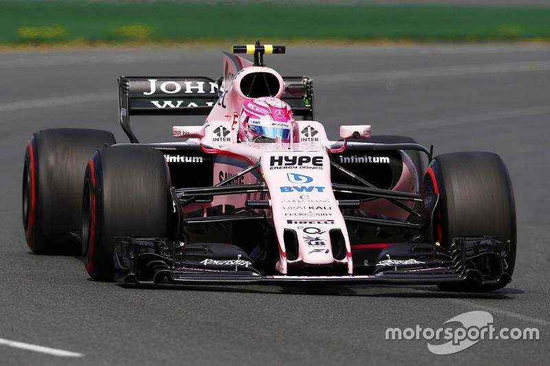 Já Ocon, de 20 anos, foi contratado pela Force India para fazer sua primeira temporada completa. O francês é um dos pilotos protegidos da Mercedes.