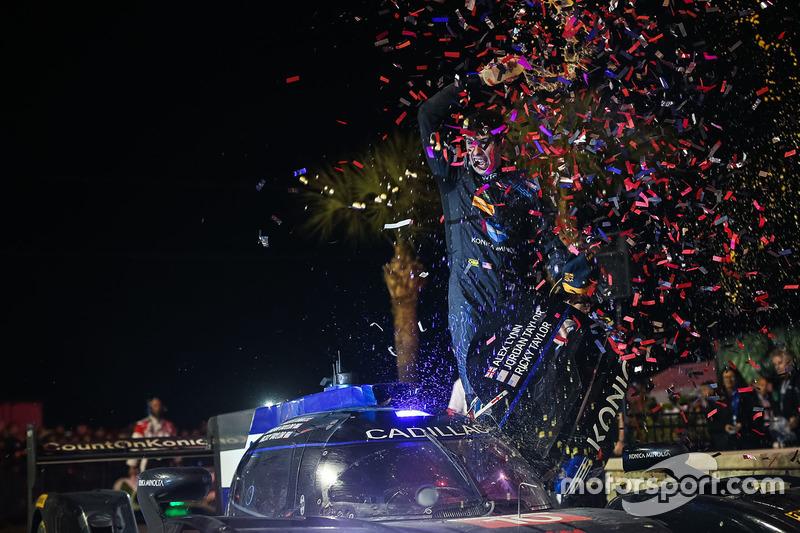 Ganadores Ricky Taylor, Wayne Taylor Racing