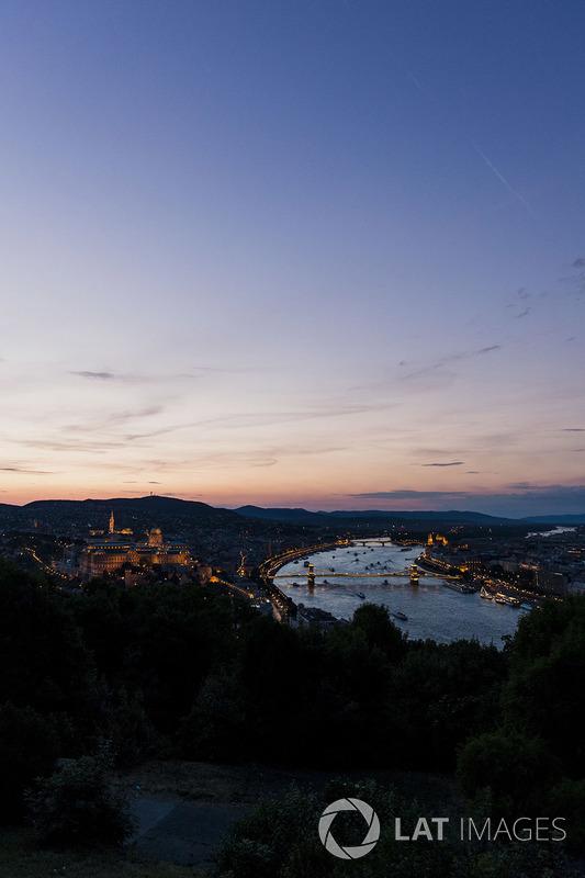 Budapest am Abend