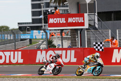 Juan Francisco Guevara, RBA Racing Team; Kaito Toba, Honda Team Asia