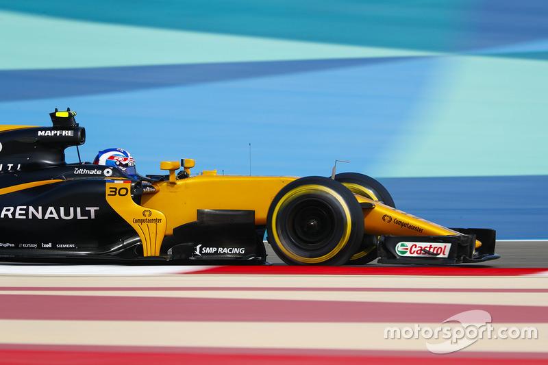 10: Джолион Палмер, Renault Sport F1 RS17