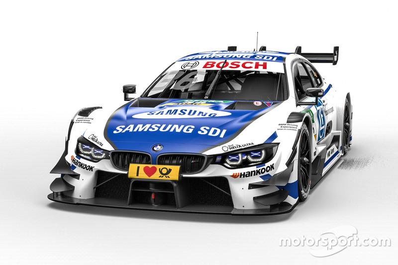 #36: Maxime Martin, BMW Team RBM, BMW M4 DTM