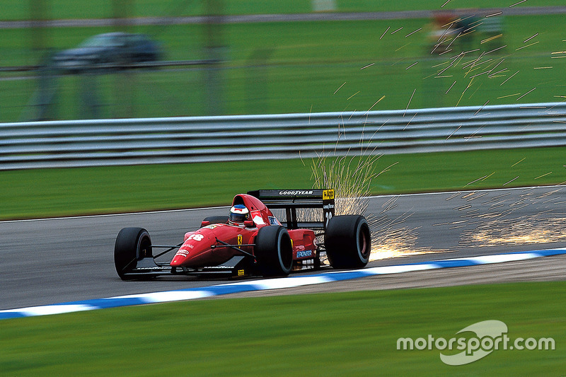 F1, Silverstone 1992: Ivan Capelli, Ferrari F92A