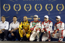 Alle FIA WTCC Weltmeister, Roberto Ravaglia, Andy Priaulx, Gabriele Tarquini, LADA Sport Rosneft, La
