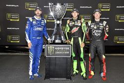 Jimmie Johnson, Hendrick Motorsports Chevrolet, Chase Elliott, Hendrick Motorsports Chevrolet, Kasey Kahne, Hendrick Motorsports Chevrolet