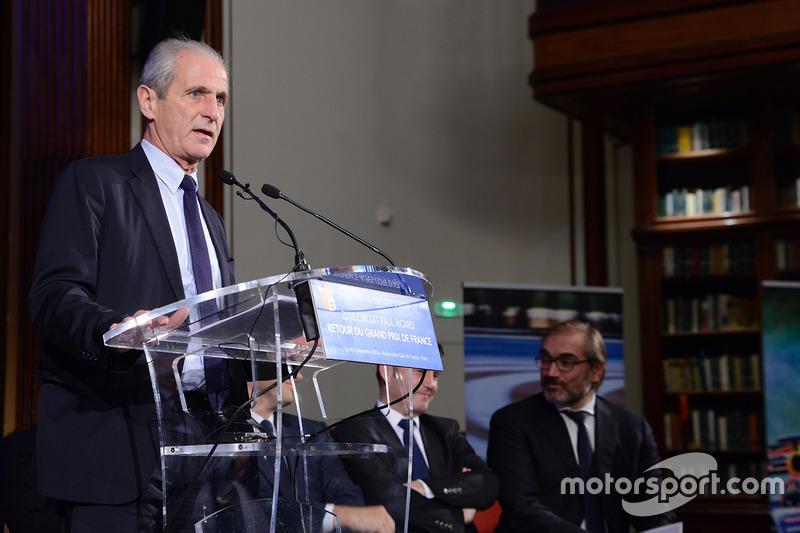 Hubert Falco, alcalde de Toulon
