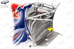 Red Bull RB7, diffusore soffiante