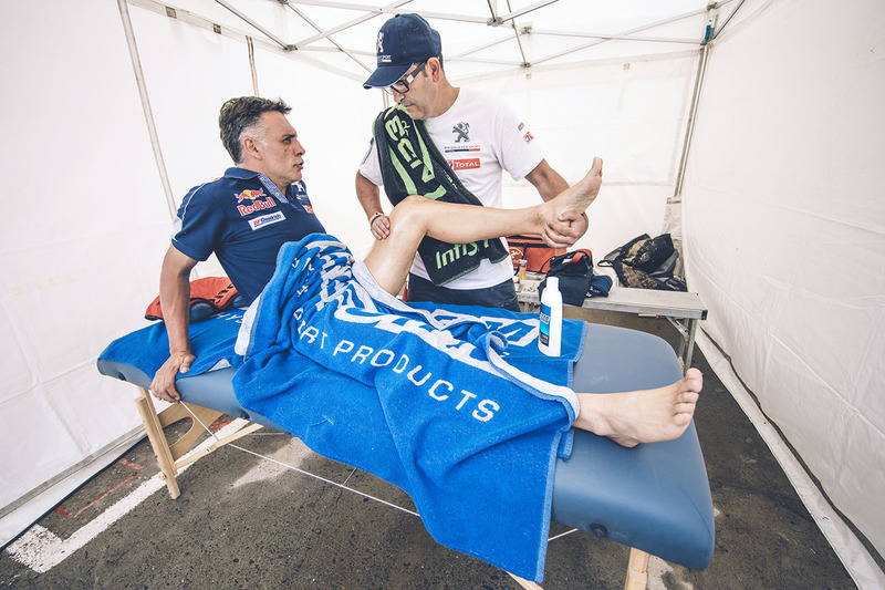 Lucas Cruz, Peugeot Sport con Jean-Philippe Imparato