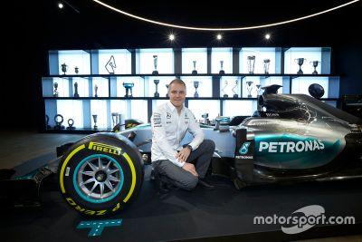 Annonce de Valtteri Bottas chez Mercedes