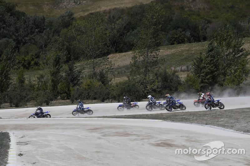 Гонка на флет-треці VR46 Motor Ranch