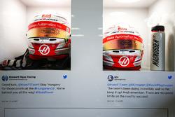 Helmets for Kevin Magnussen, Haas F1 Team