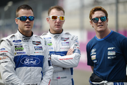 Dirk Müller, Joey Hand, Scott Dixon, Ford Chip Ganassi Racing