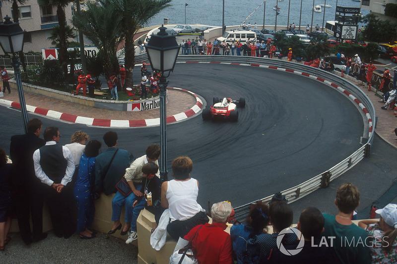 Эта победа в Монако стала для него четвертой подряд с 1989 года