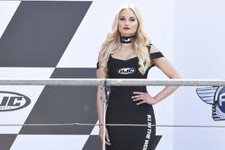 Chica del podium