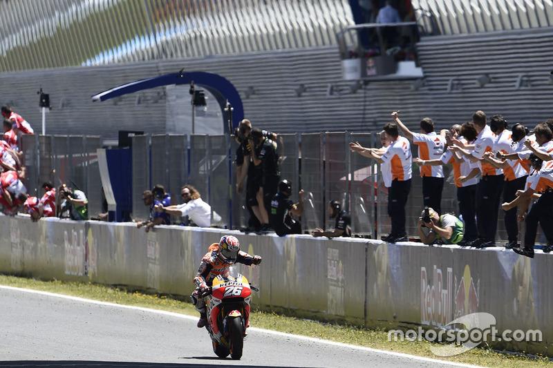 Dani Pedrosa, Repsol Honda Team, wins